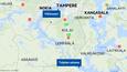 Vesijettiä kuljettaneet henkilöt törmäsivät toisiinsa perjantaina Toijalan sataman edustalla Akaassa ja lauantaina Tampereella Viikinsaaren läheisyydessä.