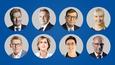 Tässä presidenttiehdokkaat Alma-kyselyn mukaisessa kannatusjärjestyksessä: Sauli Niinistö (valitsijayhdistys), Pekka Haavisto (vihr.), Paavo Väyrynen (valitsijayhdistys), Laura Huhtasaari (ps.), Matti Vanhanen (kesk.), Tuula Haatainen (sd.), Merja Kyllönen (vas.) ja Nils Torvalds (r.).
