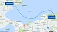 Putket upotetaan Näsijärveen tänä syksynä, ja työt valmistuvat ensi heinäkuuhun mennessä. Kartta reitistä on suuntaa-antava.