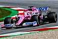 Racing Pointin Sergio Perez oli ensimmäisten harjoitusten nopein.