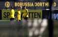 Norjan nuori hyökkääjäihme Erling Braut Håland osallistui joukkueensa Borussia Dortmundin harjoituksiin torstaina.