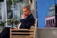 Tasavallan presidentti Sauli Niinistö isännöi Kultaranta-keskusteluja Ylen studiolla koronapandemian vuoksi.