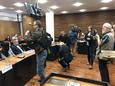MV-verkkojulkaisun perustaja Ilja Janitskinia ei Helsingin hovioikeudessa maanantaina näkynyt sen enempää, kuin jutusta käräjäoikeudessa tuomion saanutta Johan Bäckmaniakaan.