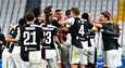 Juventus pääsi jälleen tuulettelemaan mestarina.