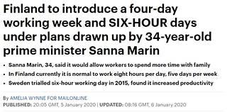 Daily Mailin juttu esitteli Marinin aiemman heiton tulossa olevana uudistuksena.
