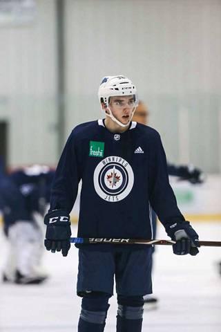 Ville Heinola on tehnyt kaikkiin suuren vaikutuksen Winnipeg Jetsin harjoitusleirillä.