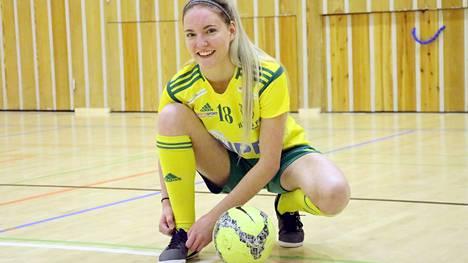 Mänttä-Vilppulasta kotoisin oleva Matilda Herranen on valittu mukaan naisten futsalmaajoukkueeseen Ukrainan EM-karsintoihin.