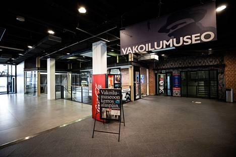 Tampereen Vakoilumuseo sijaitsee Finlaysonin alueella.