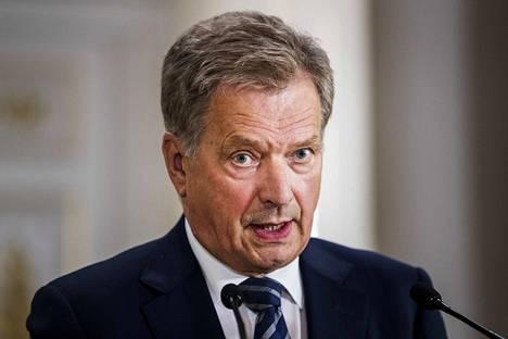 Presidentti Sauli Niinistö puhui perinteisessä uudenvuodenpuheessaan politiikan työrauhan ja kansalaisten yhteisymmärryksen puolesta.