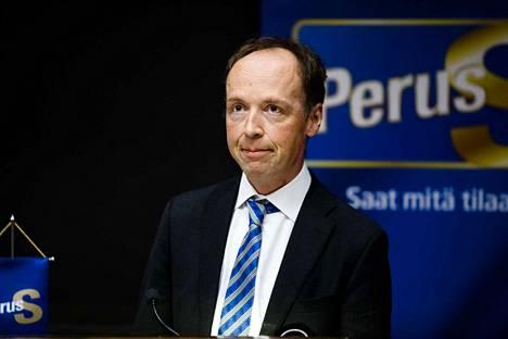 Jussi Halla-ahon johdolla perussuomalaiset on kirinyt selkeästi Suomen kannatetuimmaksi puolueeksi.