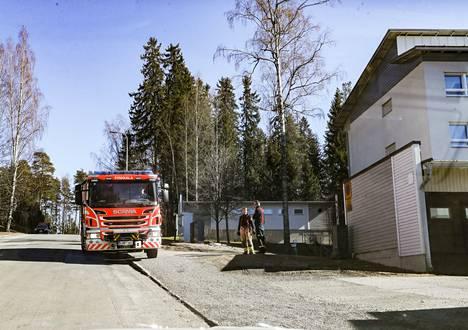 Tilanne oli ohi palopaikalla jo ennen kello 16:tta torstaina.