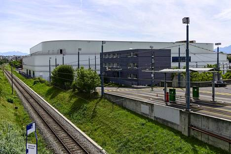 Onnettomuus sattui Lausannen jäähallissa.