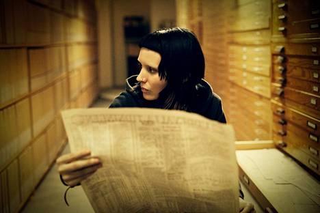 Rooney Mara on Lisbeth Salander.