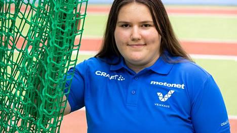 Silja Kososen heitti ainoana moukaria yli 70 metriä Tallinnassa.