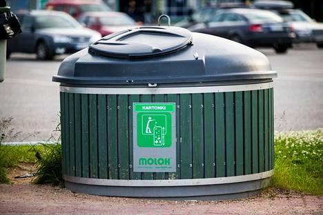 Kuvan Molok-jätesäiliö ei liity tapaukseen.
