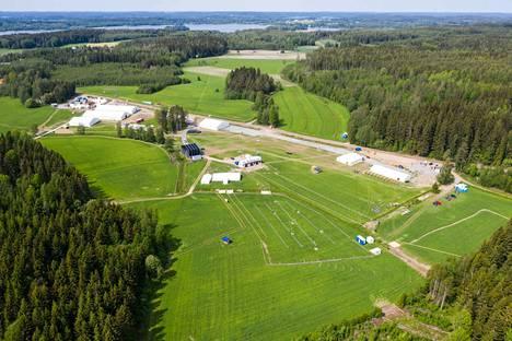 Täällä pidetään viikonlopun suunnistusjuhla, Kangasala-Jukola.
