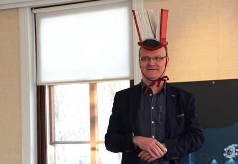 Jukka-Pekka Palviainen valittiin vuonna 2018 Sastamalan kirjapääksi. Hän on niinikään varsin tuottelias kirjailja.