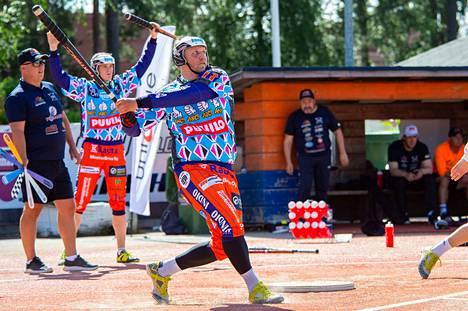 Miikka Riikonen löi KaMalle neljä juoksua. Hän on lyöjätilastossa 12:s saldolla 2+28.