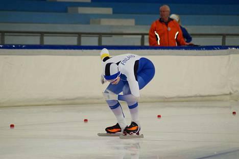 Laura Kivioja oli 17:s Sveitsissä 1 500 metrillä.