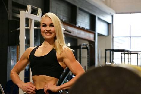 Verna Aitto-oja sijoittui Fitness cupissa sarjassaan toiseksi. Hän on tulokseen tyytyväinen, sillä oma suoritus sujui hyvin.