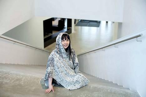 Vuonna 2014 Susanna Majuri piti Kangasala-talon avajaisissa näyttelyn.
