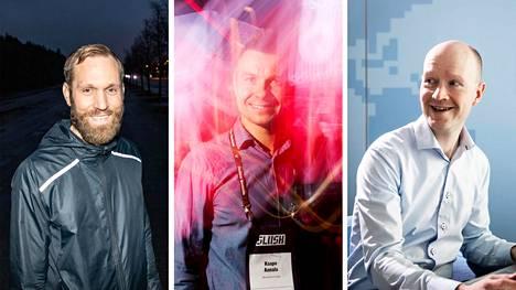 Miika Mäkitalon johtama Happy or Not, Kaapo Annalan johtama Neuvo Event Labs ja Antti Nivalan perustama M-Files ovat kaikki saaneet viime vuosina kansainvälistä rahoitusta.