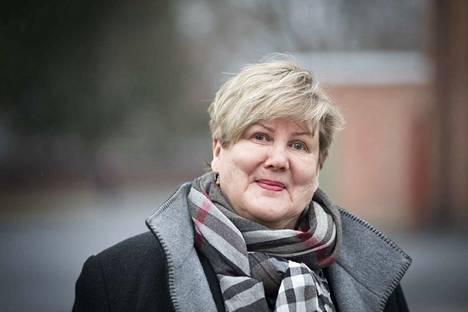 Kaarina Ranne Vihreiden valtuustoryhmän puheenjohtaja.