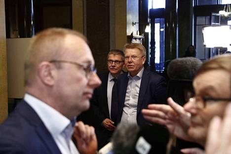SAK:n puheenjohtaja Jarkko Eloranta kertoi, että hallituksen muodostaja Antti Rinne ei antanut mitään lupauksia työmarkkinajärjestöille.