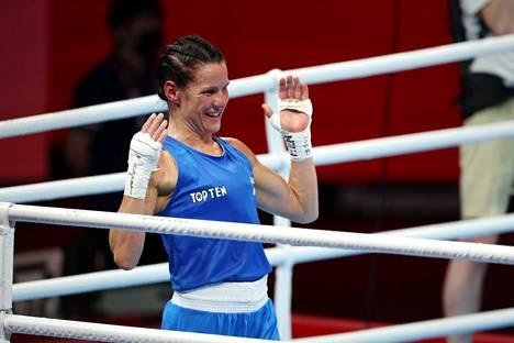 Mira Potkonen otti Tokiossa uransa toisen olympiapronssin.