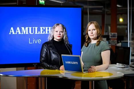 Saara Tunturi ja Enni Mansikkamäki piipahtavat suorassa vaalilähetyksessä myös Nokialla.