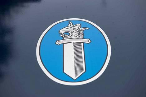 Poliisi. Kuvitus. Kuvituskuva. Poliisin logo