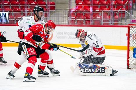 Linus Söderström pelasi hienosti kolmen kuukauden tauon jälkeen.