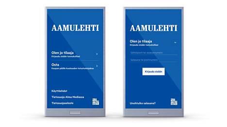 Tilaajalle kuuluvat kaikki Aamulehden digitaaliset palvelut sovelluksessa ja verkkosivuilla.