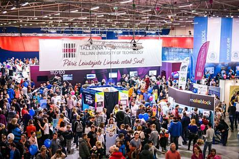 Tallinnassa järjestettiin Robotex-tapahtuma vuonna 2018.