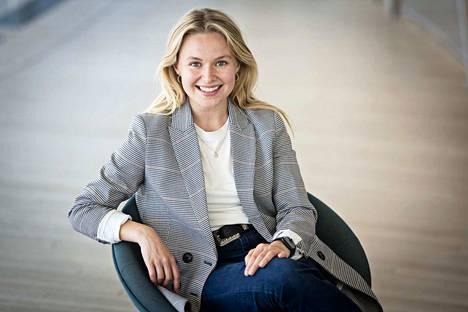 Pia-Maria Nickström sijoittaa pitkän aikavälin tähtäimellä. Opintolaina voi hänen mielestään tarjota alkusysäyksen sijoittamiseen.
