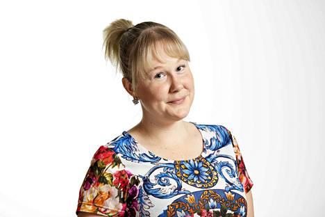 Marianna Langenoja, kolumnikuva