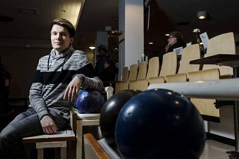 Perttu Jussilla, 28, on entinen huippupelaaja ja nykyinen Suomen keilailuliiton puheenjohtaja.