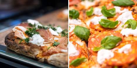 Italialaisen esikuvansa tapaan Puuvilla Kitchenin palapizzat ovat rapeapohjaisia, maistuvia herkkupaloja. Maun täydentävät tuoreet yrtit ja aito bufala mozzarella.