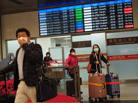Monet lentoyhtiöt ovat peruneet lentonsa Kiinaan koronaviruksen takia.