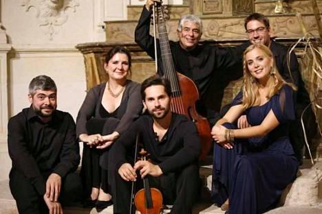 Ranskalainen vanhan musiikin yhtye Fuoco E Cenere avasi Sastamalan musiikkijuhlat.