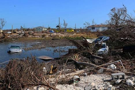 Hurrikaani Dorian aiheutti tuhoa Little Abacon saarella. Nyt hurrikaanin jäänteet tuntuvat varsin maltillisina Suomessa.