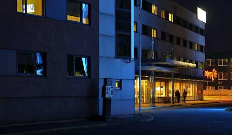 Tapaturma sattui  Tallink Express -hotellissa Tallinnassa. Arkistokuva vuodelta 2014.