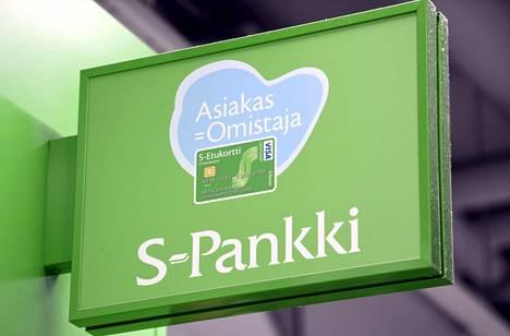 S-Pankille lankesi lähes 1,7 miljoonan euron seuraamusmaksu.