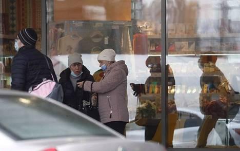 Venäjällä kirjattiin yli 17 300 tartuntaa vuorokauden kuluessa. Kuva Moskovasta.