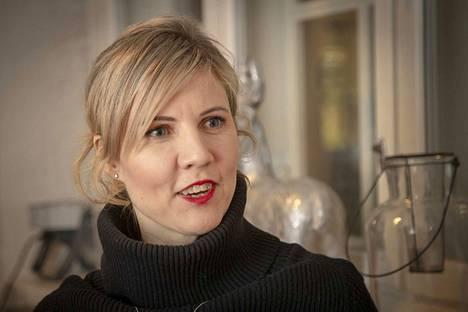 Katariina Yrjönkosken työ jatkuvan oppimisen asiantuntijana on Tampereen yliopistossa, mutta hänellä on työpiste myös Porin yliopistokeskuksessa.