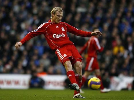 Sami Hyypiä edusti Liverpoolia vuosina 1999–2009.