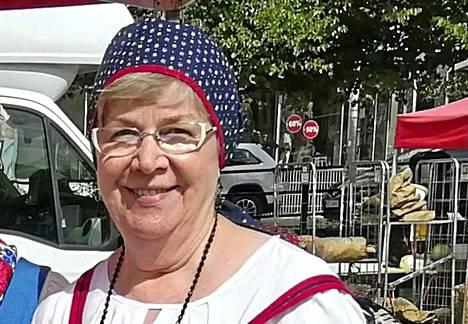 Paula Mattila jatkaa Vammalan Eläkkeensaajien puheenjohtajana.