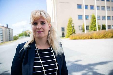 Nokian sivistysjohtaja Pauliina Pikka.