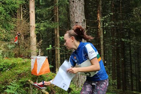 Venla Raukola osallistui kaikkiin Oravacupin osakilpailuihin ollen sarjassaan neljäs.