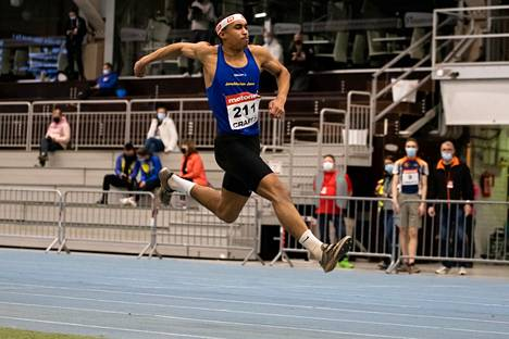 Iikka Alingué lunasti odotukset ja voitti kilpailun tuloksella 15,62.